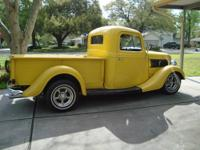 1937 Ford Truck All Metal Body. 350 small block and 400