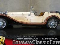 Stock #441-TPA 1937 Jaguar SS 100 Roadster  $9,995.00