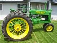 Have my 1937 Unstyled A for sale. This tractor is show