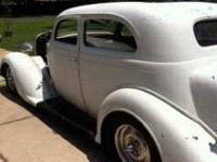 1937 Plymouth P3 This is a great 2 Door Hot Rod
