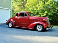 Beautiful all steel 1937 Chevy Master Business Coupe!