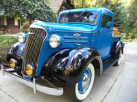 This 1937 Chev truck has 36,932 miles on it from with