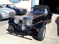1937 Jaguar SS-100 Replica, built in 1991 by Banshee