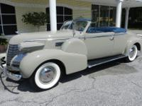 1939 Cadillac Series 75 2-Door Convertible Coupe