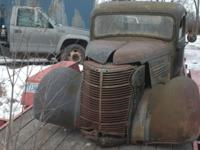 38 chev pickup body no title good vin plate. This is a