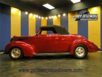 1938 Ford Cabriolet for sale. This all steel beauty is