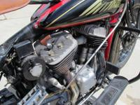 The original restoration paint and striping by Johnny