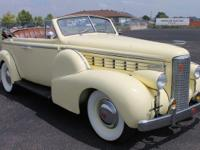 I'm proud to present this 1938 LaSalle Convertible