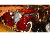 Mercedes-Benz 540K Cabriolet A Just 419 examples of the