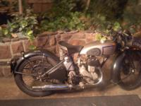 !1938 Norton Model 16H in outstanding condition. The