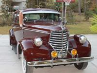 1938 OLDSMOBILE LOW RIDER CRUISER. THE CAR NOW HAS
