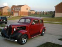 1938 Plymouth Coupe 350. Mileage 77,496. Turbo hydro
