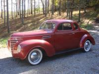 1938 Plymouth Business Coupe on Chevrolet S-10 Chassis,