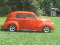1938 Willys Slantback 4DR Sedan ..All Steel Body Street