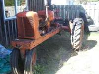I have a 1939 allis chalmers wc farm tractor for sale