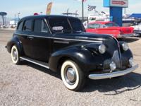 1939 Buick 4 door sedan, runs great with Chevy 350
