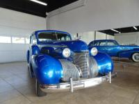 1939 Cadillac 4-Door Sedan Restomod. 472 c.i. engine