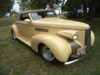 1939 Cadillac LaSalle Opera Convertible ..Extremely