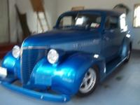 1939 chevy sedan. All steel body with fiberglas front