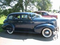 1936 Chevy Master 85 Sedan...``Export Blue`` / Tan