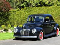 1939 Ford Deluxe Coupe Street Rod. #WA98200681.