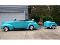 Here is a great classic 1939 Ford convertible with all