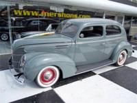 1939 Ford Sedan Grey with Grey Cloth Interior. New