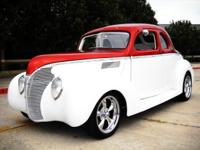 This is an Amazing 1939 Ford Street Rod with a 350 CU.