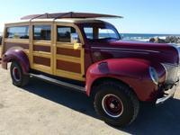 1939 Ford Woody 4 X 4 Mahogany & Birds Eye Maple-Year :