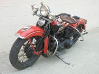 1939 Harley -Davidson EL Knuckle head for sale.Original
