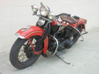 1939 Harley -Davidson EL Knuckle head for sale.Original