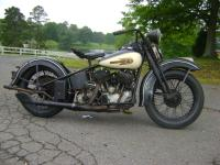 HARLEY DAVIDSON 1939 UL, UNRESTORED WITH VIRGINIA