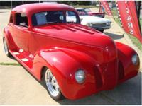 This 1939 Hudson is an all custom beauty! It has a 464