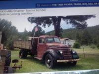 Very good shape for old vintage truck all original