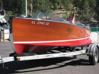 1939 Mercury Boats M-18 Vintage. Beautiful Vintage 1939