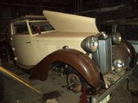 1939 MG VA Ticford Convertible ..Extremely RARE Car