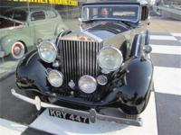 1939 Rolls Royce Wraith Black and Silver with Original