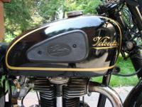 1939 Velocette KSS Special / MAC Special.The marriage