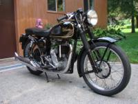 1939 Velocette KSS MAC Special. The marriage of a KSS