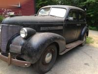 1939 Chevy Master Deluxe - Runs and drives well with