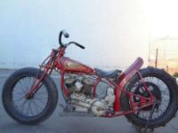1939 Indian Hill Climber FACTORY RACERFactory, racer,
