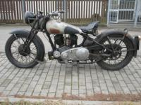 1939 BROUGH SUPERIOR 990cc SS80 this motorcycle has