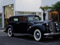 Finished in Packard Dark Blue that s accentuated with