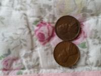 I have this two pennies for sale ... make a offer . One