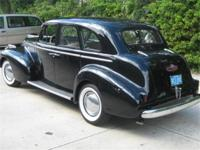 This is a nice 1940 Buick Sedan