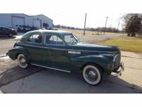 Year : 1940 Make : Buick Model : Special Exterior Color