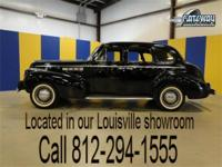 1940 Buick Special 4 door sedan. This is an original