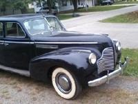 1940 Buick Special ... runs has actually been in garage