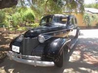 1940 Cadillac 72 Formal Sedan For Sale In Ojai,