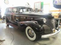 1940 Cadillac 72 Limousine ..Restored over Last 10